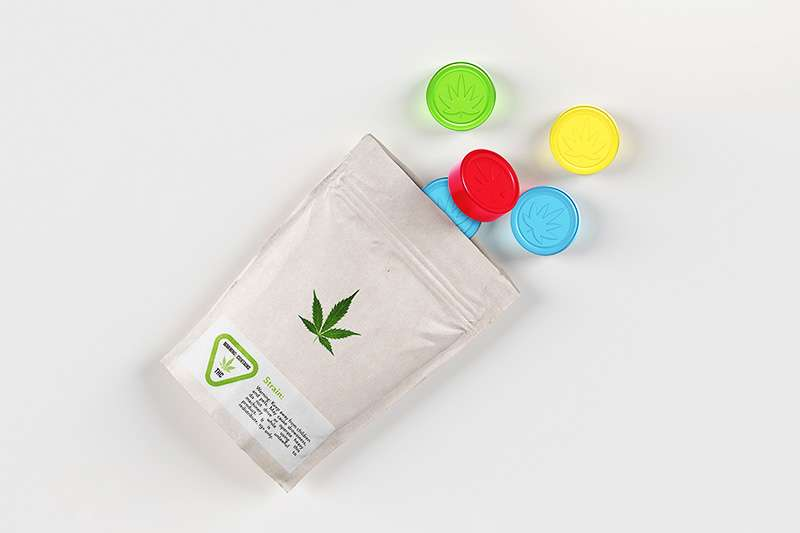 Image of gummy candy infused with medical cannabis.